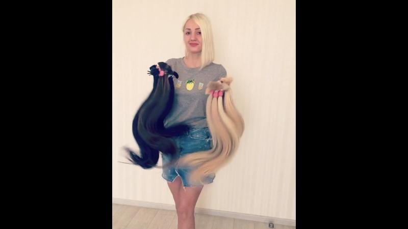 ❤️Любимые мои красавицы ❤️ В наличии огромный выбор славянских волос категории премиум ⭐️Разнообразная палитра оттенков