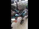 Как регулируется спинка и подножка у коляски RASER RC