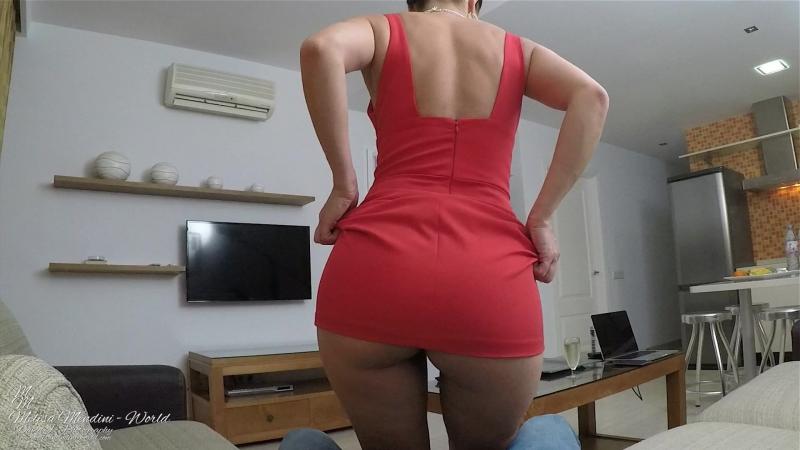 Melisa Mendini (Kristina Uhrinova, Lexa) - Boyfriend Lapdance [Solo, Erotic, Posing, Close ups, Masturbation, Ass]