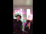 [VIDEO] 18/02/19 из твиттера BTS_twt Песня с нашим музыкальным актером 😊😁🤣