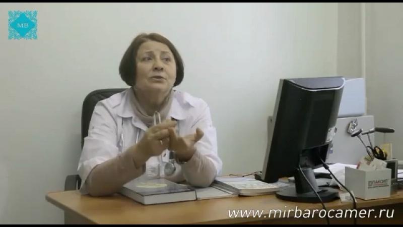 Лечение инсульта в барокамере