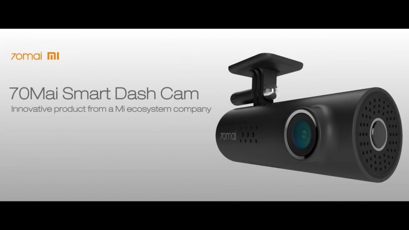 70MAI AI-powered Voice Control Dash Cam
