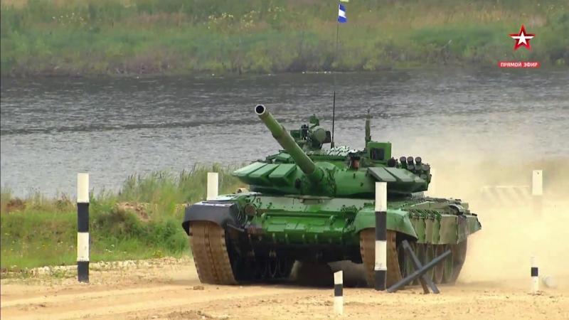 Танковый биатлон 10 заезд АрМИ-2017