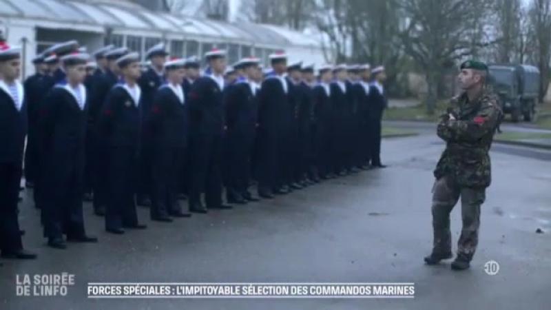 Forces spéciales : l'impitoyable sélection des commandos marines