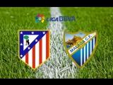 Чемпионат Испании. Атлетико - Малага