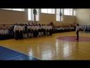 Смотр строя и песни 3Е шк 46 г Калуги