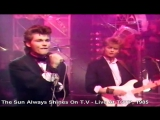 A-ha - The Sun Always Shines On T.V - Live At Totp, 1985 HD