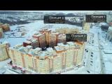 Зимний полет по мкр Университет