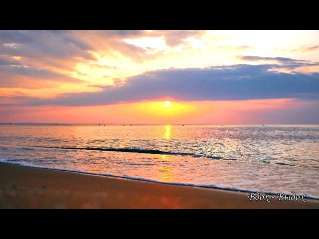 Море, музыка, волны, прибой, чайки, берег, песок, волны, релакс