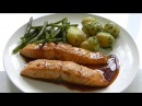 Salmon in Marinade How to cook simple tasty easy recipe