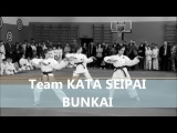Team Kata Seipai Bunkai командное ката и бункай наших девчонок