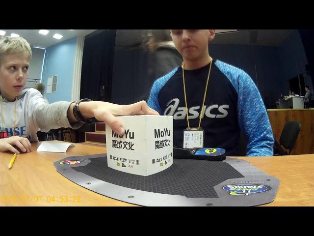 Rubik's cube 8 76 official average