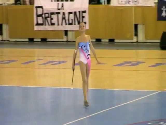 Jung Coralie solo 2011 CHAMPIONNE DE FRANCE CADETTE N1 FFTB