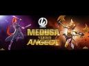 Сравнение урона Анжелы и Медузы Марвел Битва чемпионов Medusa Angela mcoc