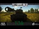 Обзор T34 Шайтан-Труба - в War Thunder!