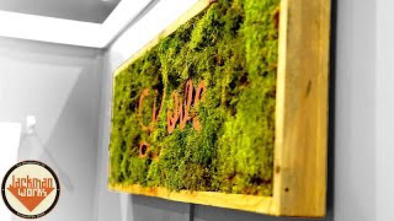 Making Inspirational Living Wall Frames
