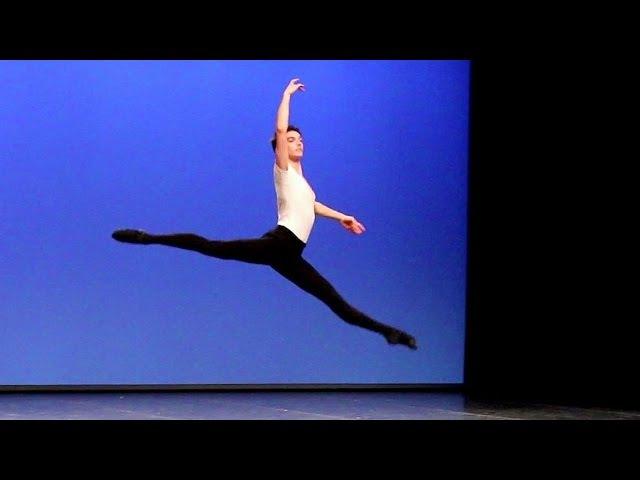 Cours de danse classique garçons II - Tours en lair, Carnaval de Venise Conservatoire de Paris