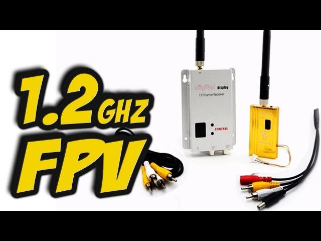 ✔ Дальнобойная видеосвязь на 1.2GHz. Обзор оборудования, совместимость, делаем ФИЛ...