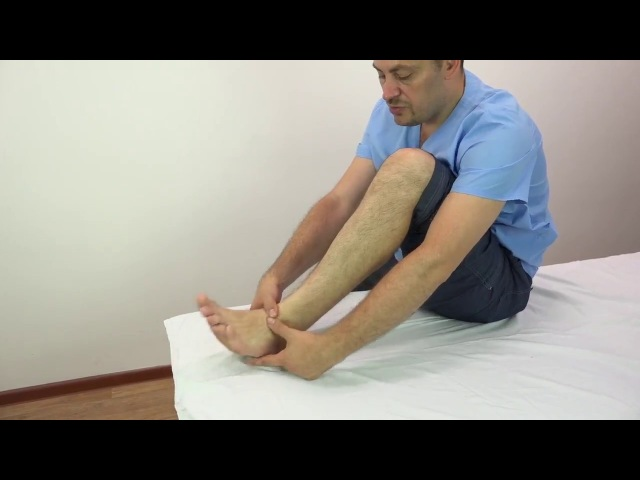 💎 Плоскостопие. Самомассаж передней большеберцовой мышцы.