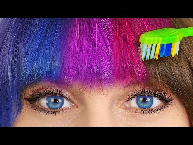10 лайфхаков для волос Простые прически
