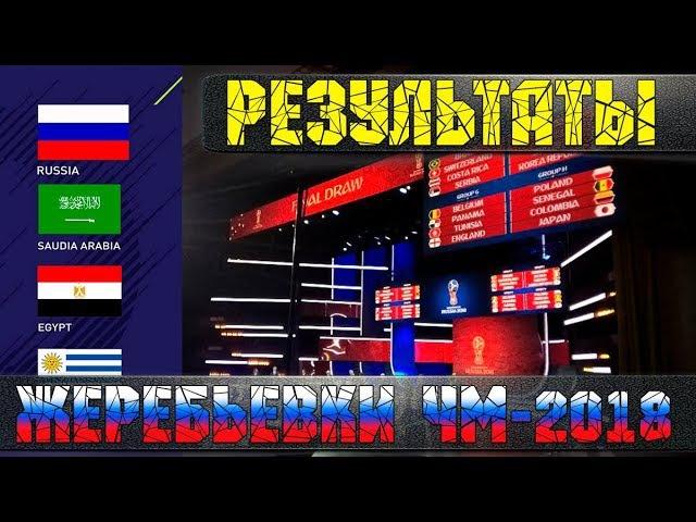 Результаты жеребьевки ЧМ-2018: У России хорошие шансы, Португалия против Испании и другие группы