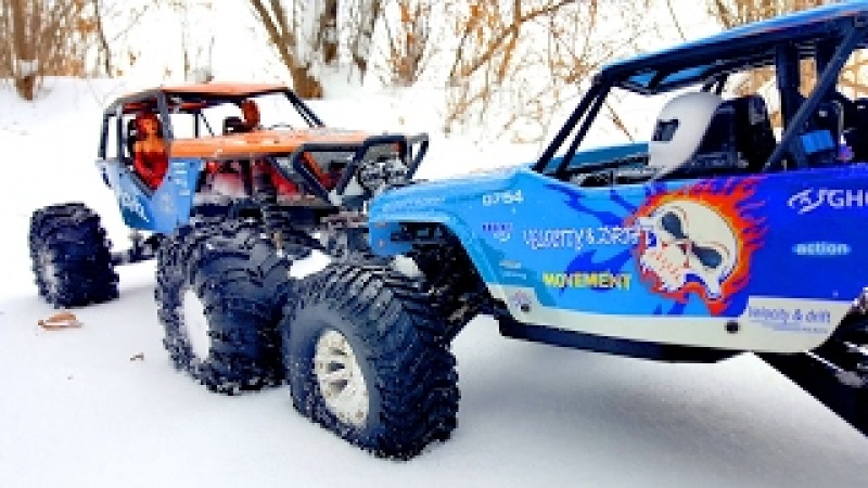 RC Trucks OFF Road 4x4 — Axial Wraith VS WLtoys Wild Track Vol 2 — RC Extreme Pictures