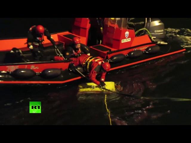 Спасатели обследовали обломки Ми 8 с помощью аппарата Фалькон