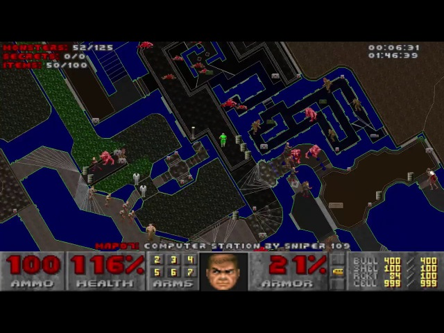 Doom with Knee-Deep in Phobos.Map 07