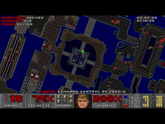 Doom with Knee-Deep in Phobos.Map 04