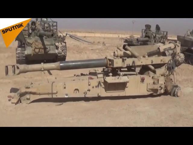 У организации Даиш в Сирии есть арсенал смертоносного оружия трофеи САА в Дейр Эз Зор