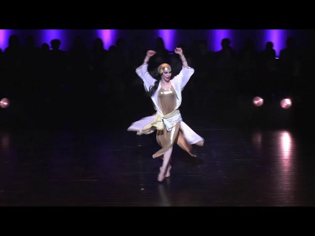 Esmeralda Colabone :Baladi BellyDance FestivalCompetition-TheONE-2017