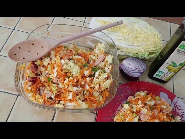 ПП Салат из пекинской капусты / Salade à base de choux chinois