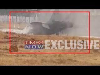 Navy's MiG-29K fighter jet skids off runway, pilot ejects safely