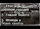 Истории на ночь 3в1 1 Уж@с в военном городке 2 Гнилое болото 3 Нелюди в белых халатах