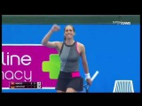 Petkovic Andrea dance against Belinda Bencic