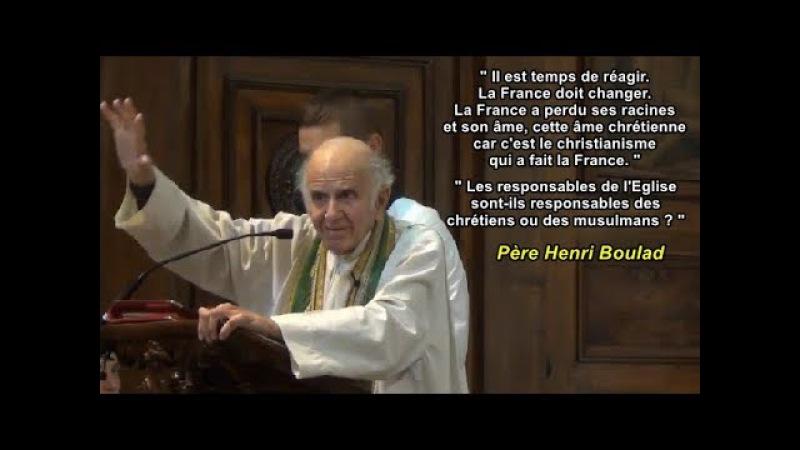 ✞Père HENRI BOULAD✞ On a peur d'annoncer Jésus Christ et l'Eglise de France se tait