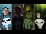 Эволюция Карателя в мультфильмах и киноEvolution of Punisher in movies and cartoons