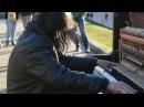 Kiev street piano