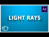 Flat Pack FX Logo Tutorial - Light Rays Effect After Effects CC