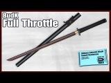 Shinwa Zatoichi Black Sword Damascus - $189.99!