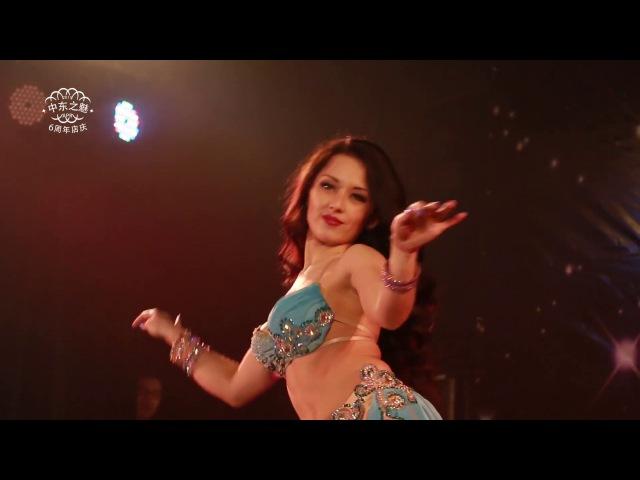 Yana Kruppa . Modern antre.Oriental Dance
