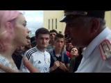 На митинге #12июня в Махачкале задержали девушку Ольгу Точёную [12.06.2017]