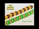 Chevron Beaded bracelet Super Easy DIY 💞