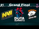 Grand Final NaVi vs VP RU #1 (bo5) Summit 8 Qualifier Minor 14.11.2017