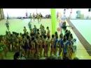 Первенство Ижевска по художественной гимнастике. Показательные выступления