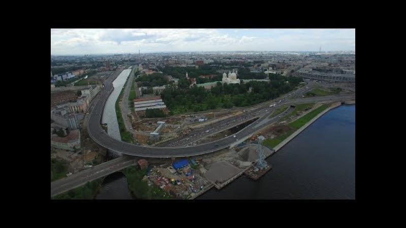 Строительство наб. Обводного канала с развязкой пр. Обуховской обороны и тоннел ...