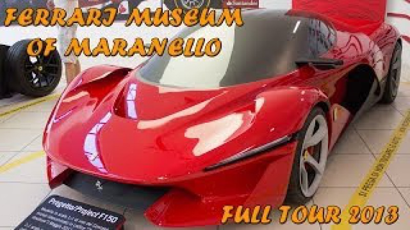 FERRARI MUSEUM OF MARANELLO - Full tour (LaFerrari, Enzo, F40, etc ... ) 2014 HQ