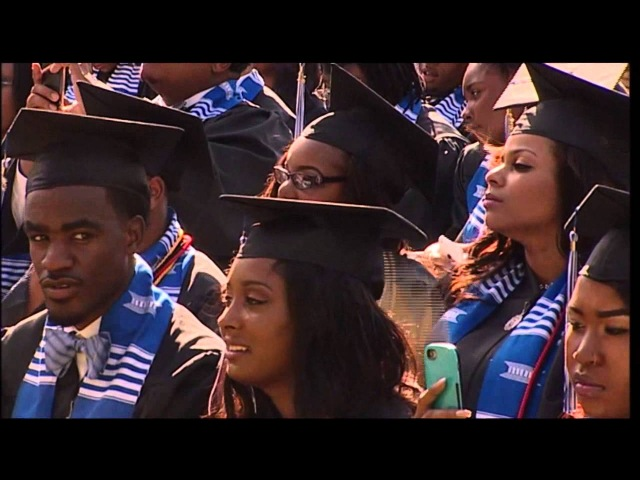 DENZEL WASHINGTON DELIVERED COMMENCEMENT ADDRESS AT DILLARD ON SATURDAY MAY 9 TC