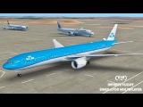 Infinite Flight Global KLM Airlines B777 - 300ER - Los Angeles to London P2
