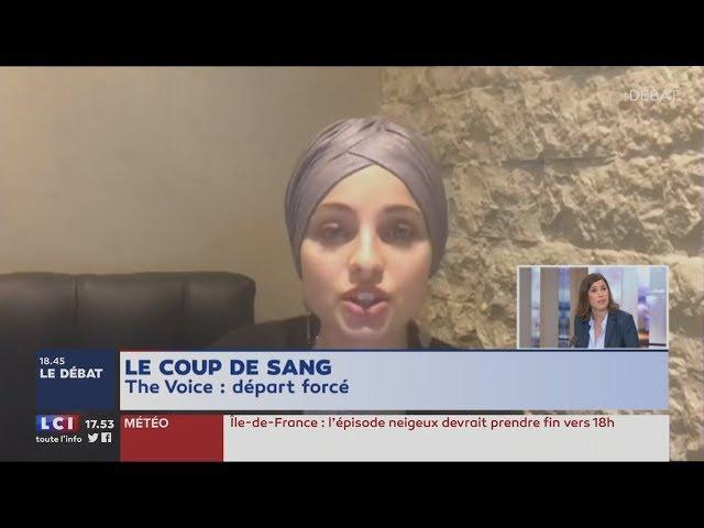 The Voice : Coup de gueule de Soazig Quéméner contre ceux qui défendent Mennel (LCI,09/02/18,17h53)